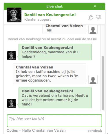 live chat uitbesteden