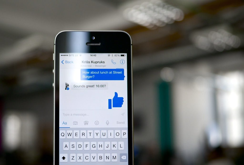"""Facebook Messenger: vaak een """"vergeten kindje"""""""